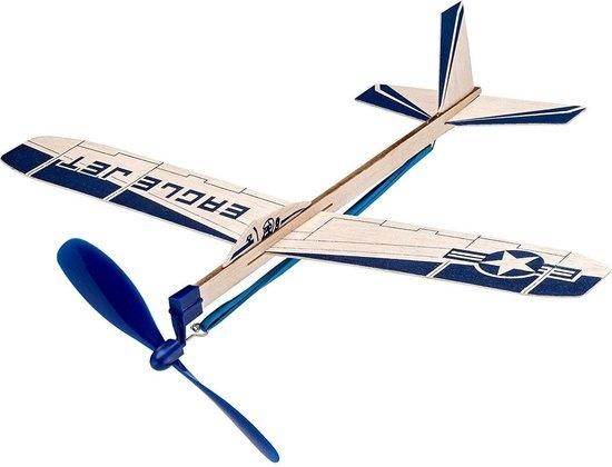 Revell Revell Balsabirds Eagle Jet Hout Donkerblauw 29 Cm