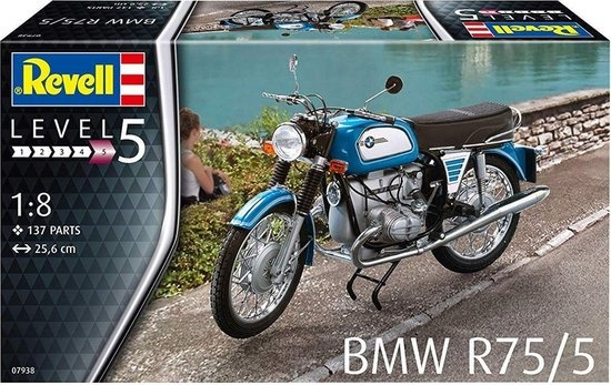 Revell BMW R75/5 Revell schaal 18