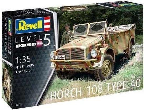 Revell Revell 03271 modelbouwkit 1:35 Horch 108 Type 40