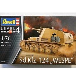 Revell REVELL 1:76 Sd.Kfz. 124 Wespe