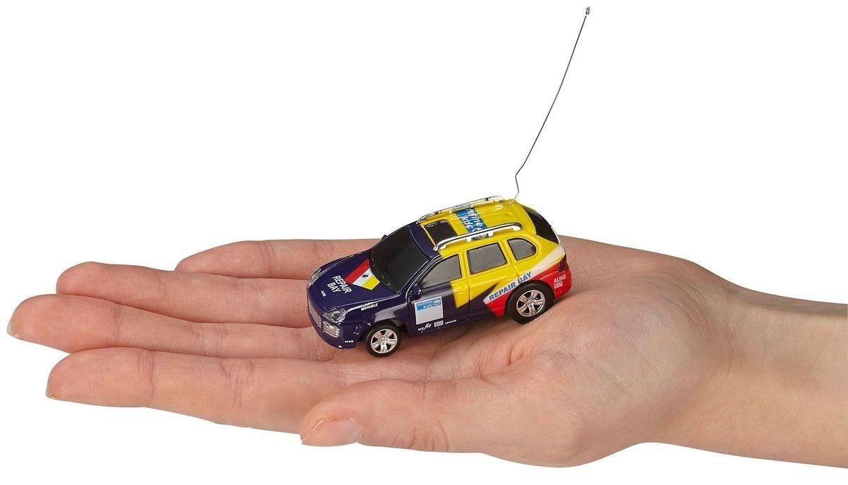 Mini rc car - van blau/ge*reve