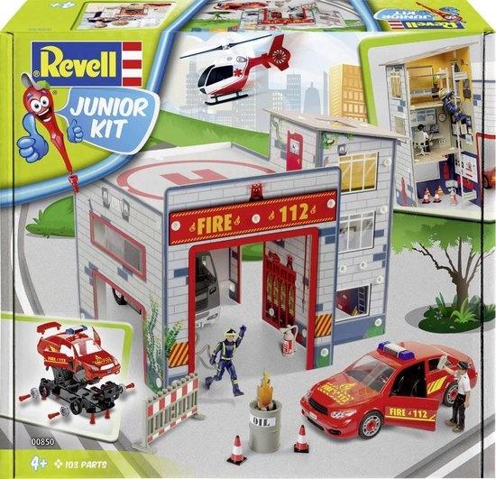 Revell Revell Junior Kit - Brandweerkazerne
