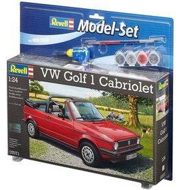 Revell Revell Model-set vw golf 1 cabriolet