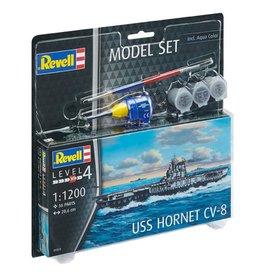 Revell Revell Model set uss hornet cv-8