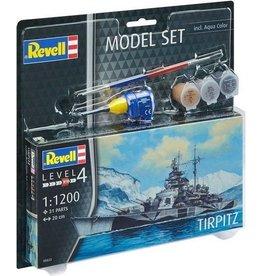 Revell Revell Modelbouwset Slagschip Tirpitz 200 Mm Schaal 1:1200