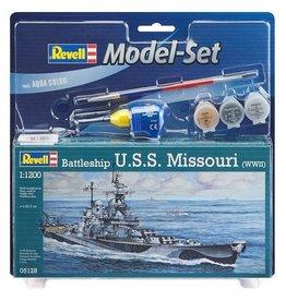 Revell Revell Model set battleship u.s.s. missouri