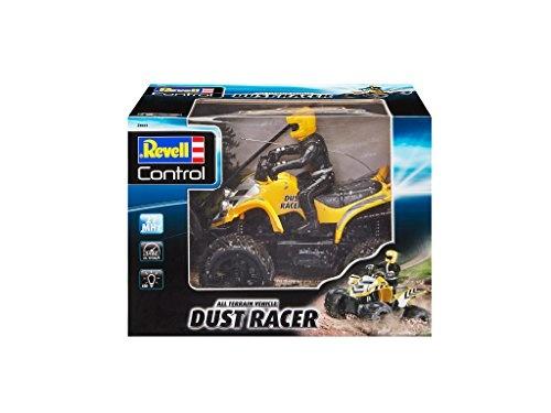 Revell Revell Rc Quadbike New Dust Racer Geel 27 Mhz 1:10