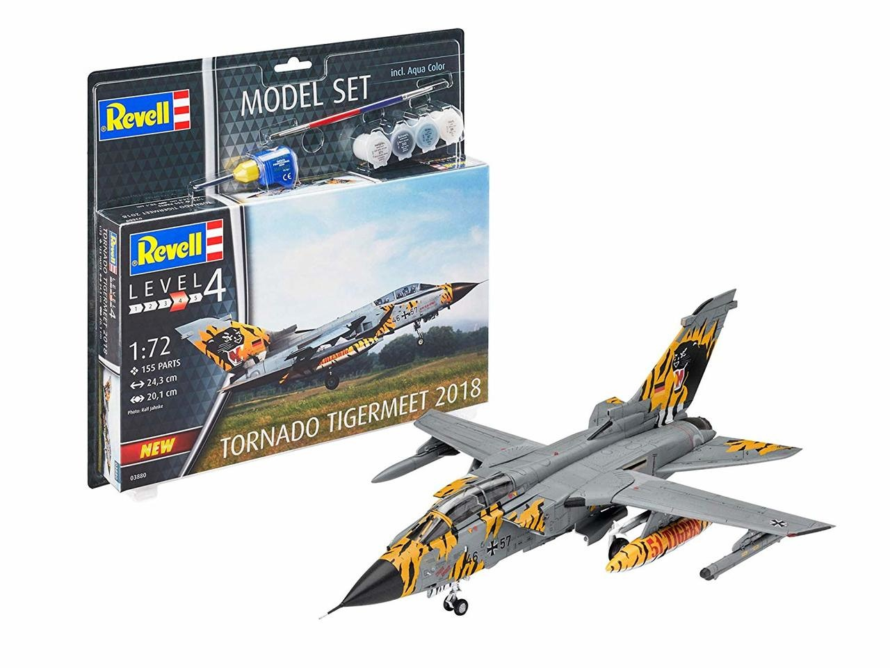 Model-set tornado tigermeet 18