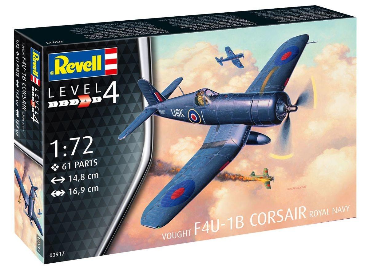 Revell F4u-1b corsair royal navy