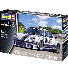 Revell Revell Modelbouwset Porsche 934 R Martini