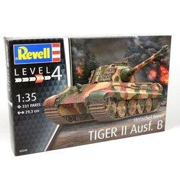 Revell Revell modelbouwpakket : Tiger II Ausf. B Henschel Turret Tank 1:35