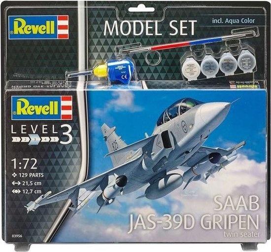 Revell Revell Model Set Saab JAS-39D Gripen TwinSeater