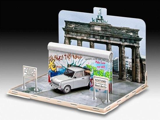 Revell Revell Modelbouwset Anniversary Fall Of Berlin Wall 1:24 Beige