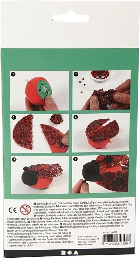 Creative Company Foam en silk clay insecten