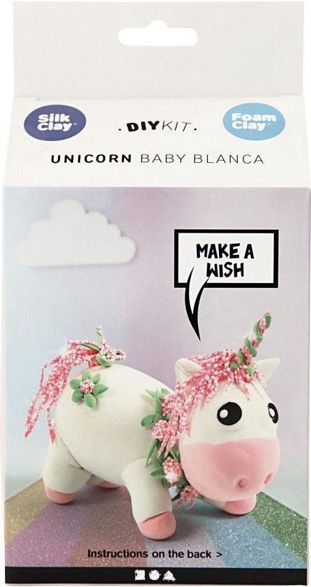 Creative Company Creative Company Unicorn Baby Blanca