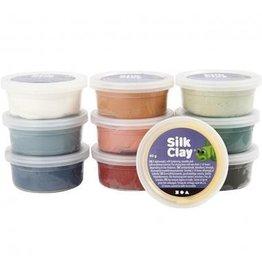 Creative Company Silk clay kleuren ass