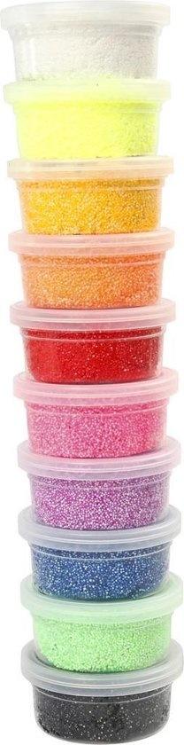 Creative Company Foam Clay - Klei - Set met 10 Kleuren van 35 gr