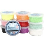 Creative Company Foam clay glitters 10 kleuren