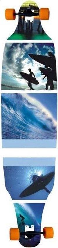"Schreuder Sports Longboard 41""blue surf"