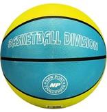 Schreuder Sports New Port Basketbal Print - Azuurblauw/Lichtgroen/Wit - 7