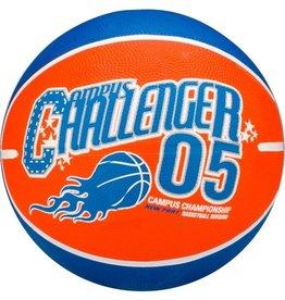 Schreuder Sports New Port Basketbal Print - Oranje/Blauw/Wit - 7