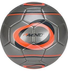 Schreuder Sports Avento Mini Voetbal - Elipse-2 - Zilver/Fluororanje/Antraciet - 2