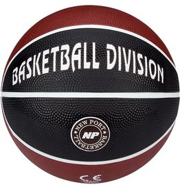 Schreuder Sports New Port Mini Basketbal Print - Bordeaux/Zwart/Wit - 3