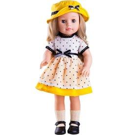 Paola Reina Pop Soy Tu Emma zomer met hoed 42cm