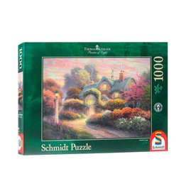 Puzzel 1000 rosebud cottage
