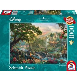 Puzzel 1000 jungle book disney