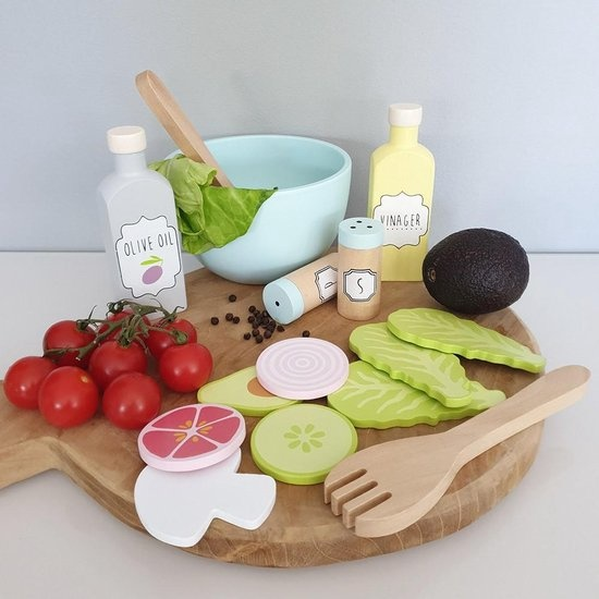 Jabadabado Houten speelset salade