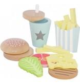 Jabadabado Jabadabado Speelset hamburger