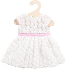 Helless Poppenkleren jurk met roosjes 35-45 cm