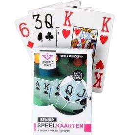 Longfield Speelkaarten grote cijfers