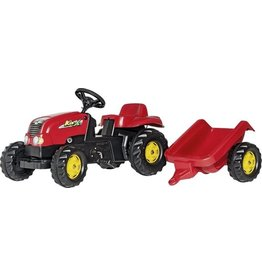 Rolly Toys Rollykid tractor +aanh. kid -x