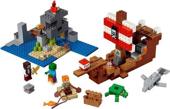 Lego minecraft avontuur piratn