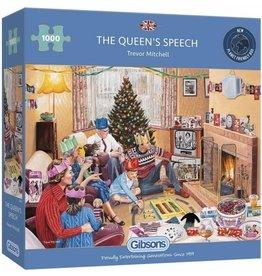 Puzzel 1000 the queen speech