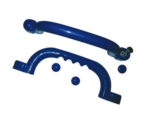Handgrepen set/2 st. blauw
