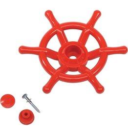 Stuurwiel boot rood      kbt