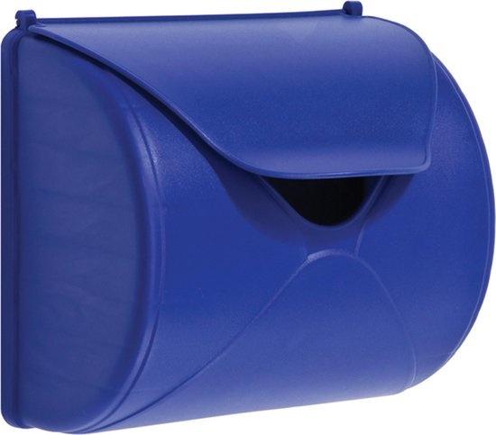 Brievenbus blauw           kbt