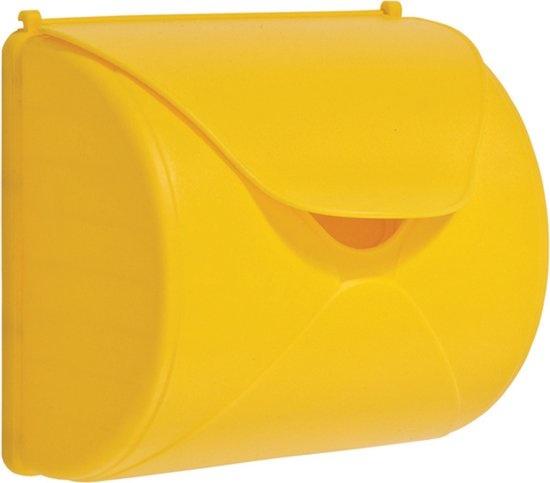 Brievenbus geel kbt