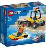 Lego Lego city atv strandredding