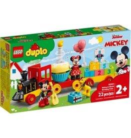 Lego Lego duplo Mickey & Minnie Verjaardagstrein