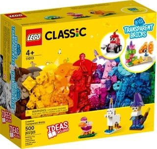 Lego Lego classic creatiev.transp.s
