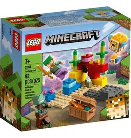 Lego Lego minecraft het koraalrif