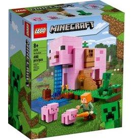 Lego Lego minecraft het varkenshuis