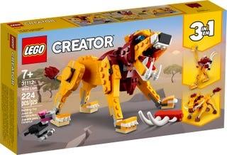 Lego Lego creator wilde leeuw