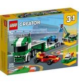 Lego Lego creator racewagen transpo
