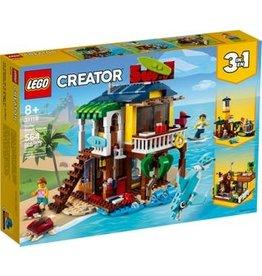 Lego Lego creator surfer strandhuis
