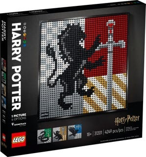 Lego Lego art Harry Potter™ Hogwarts™ Crests